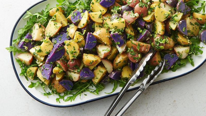 Tricolor Potato Salad