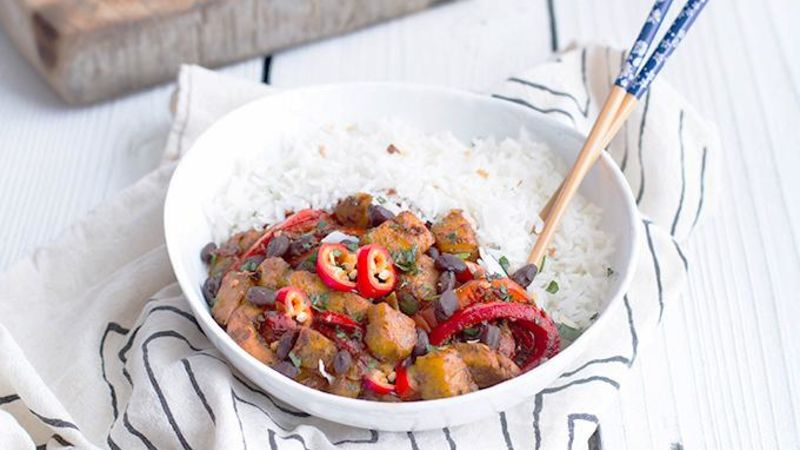 Quick Brazilian Chicken Stir Fry