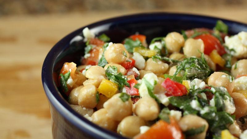 Herbed Chickpea Salad