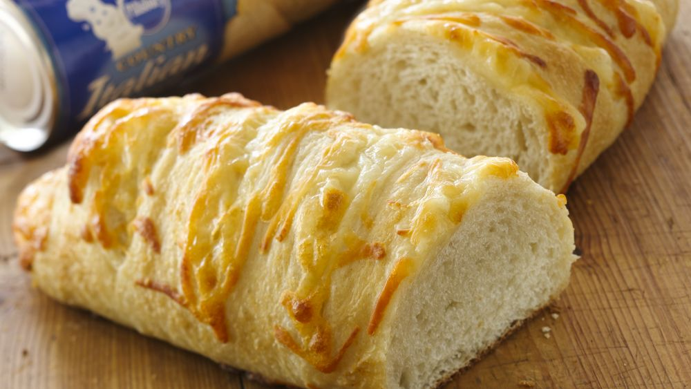 Stuffed Mozzarella Garlic Bread
