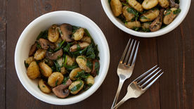 Skillet Brown Butter Gnocchi
