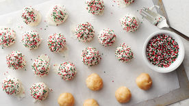 3-Ingredient Sugar Cookie Truffles