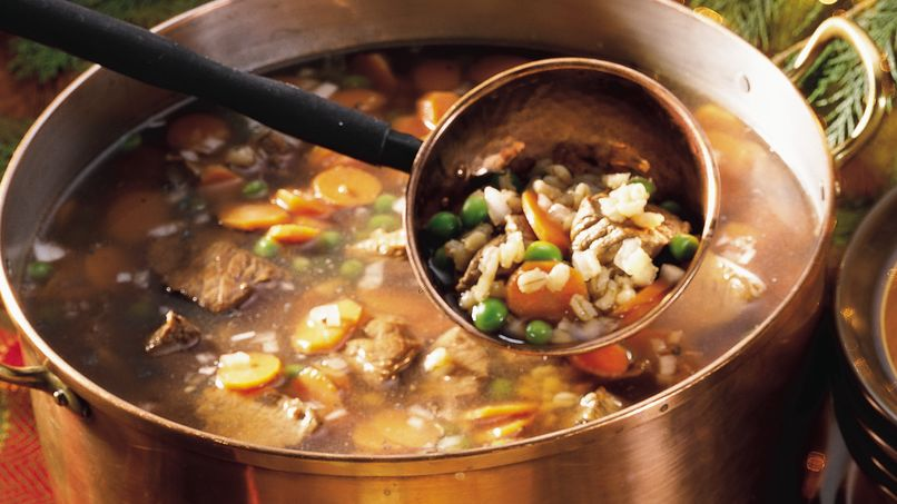 Hearty Beef-Barley Soup