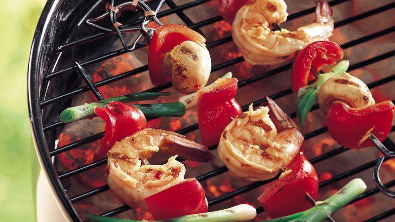 Ginger Shrimp Kabobs