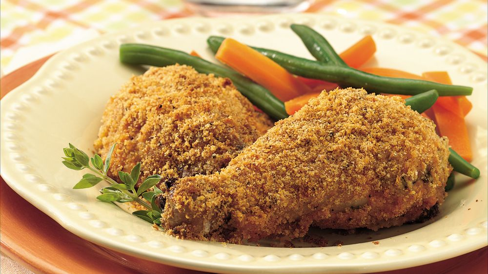 Crispy Chicken with Fresh Herbs