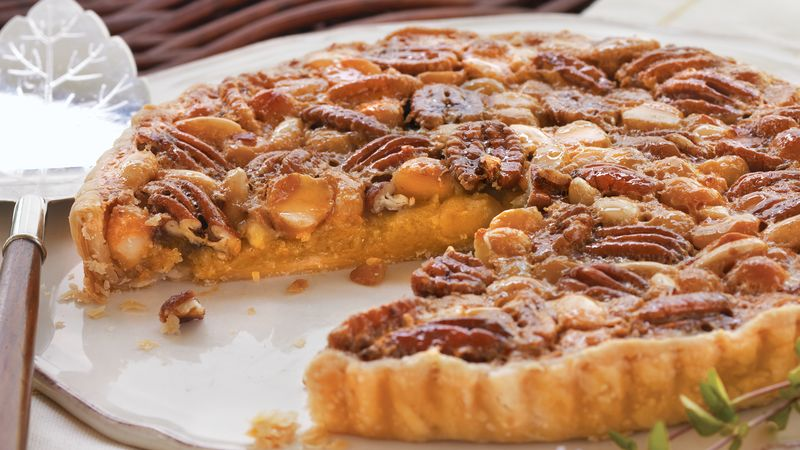 Triple-Nut Tart