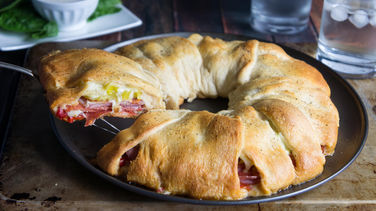 Spicy Italian Crescent Ring