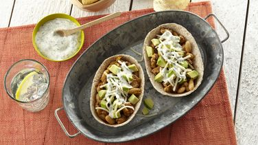 White Turkey Chili Whole Wheat Taco Boats™