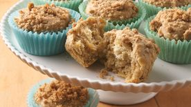 Apple-Cream Cheese Muffins