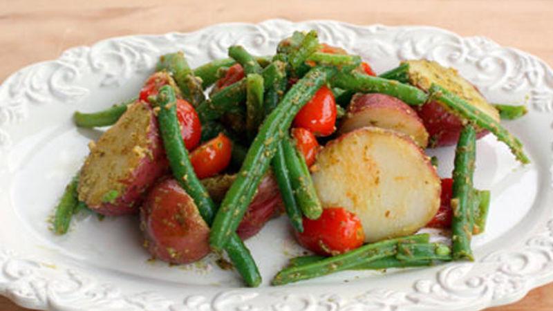 Pesto Vegetable Medley