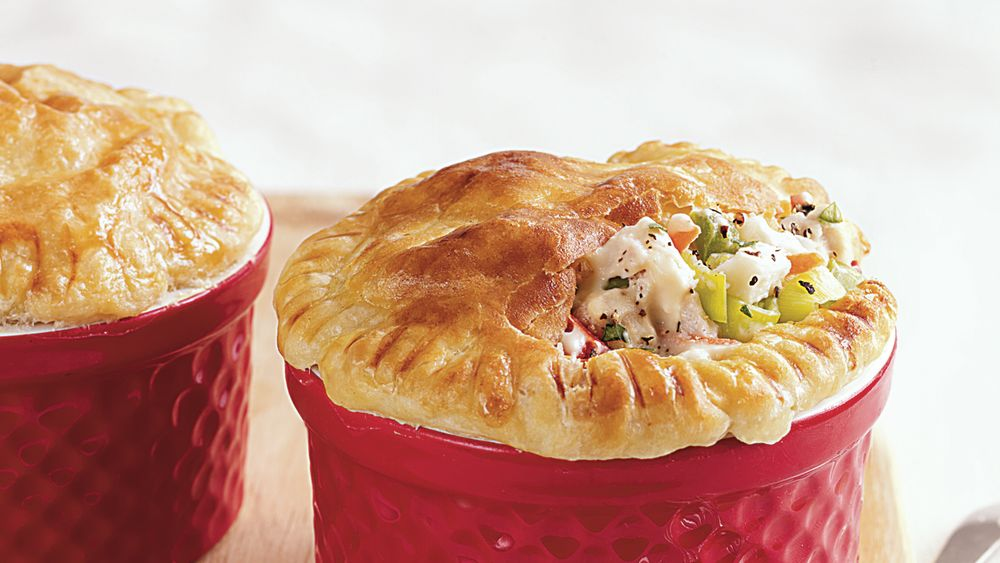 Mini Chicken and Veggie Pot Pies