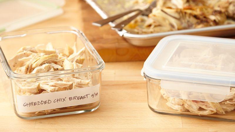 Make,Ahead Shredded Chicken Breast