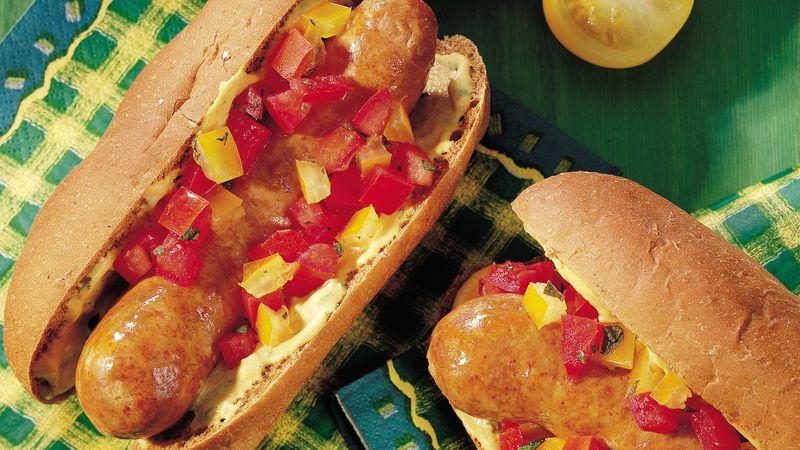 Zesty Italian Sausages
