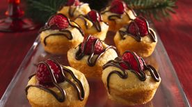 Mini Raspberry-Almond Swirls