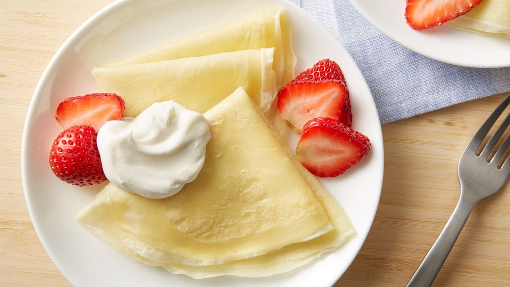 Basic Crepes Recipe - Pillsbury.com