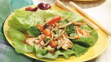 Spicy Asian Lettuce Wraps