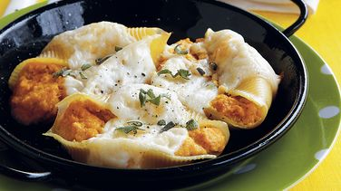 Pumpkin Parmesan Stuffed Shells
