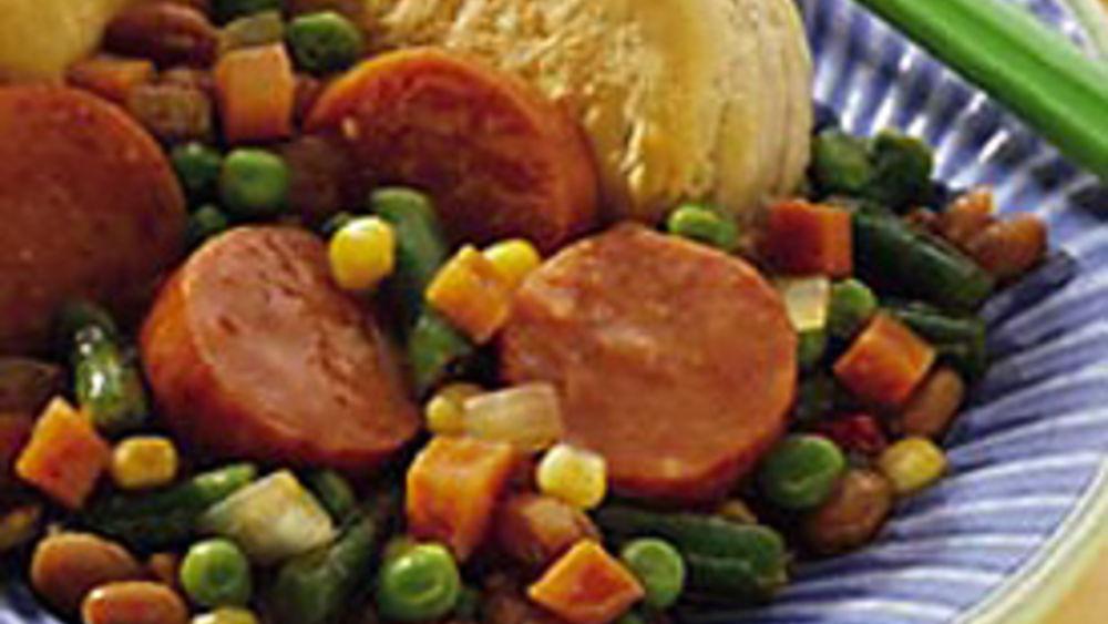 Kielbasa Baked Stew