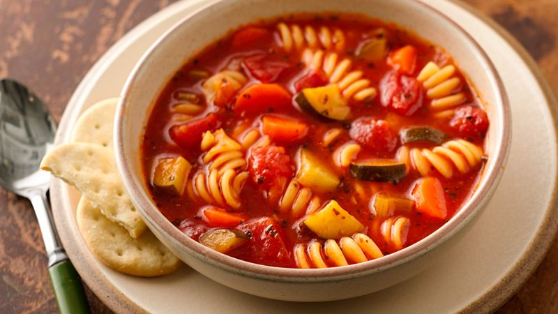 recipe: simple minestrone soup [31]