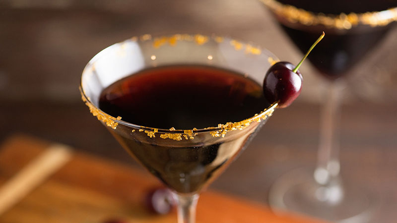 Black Cherry Martini