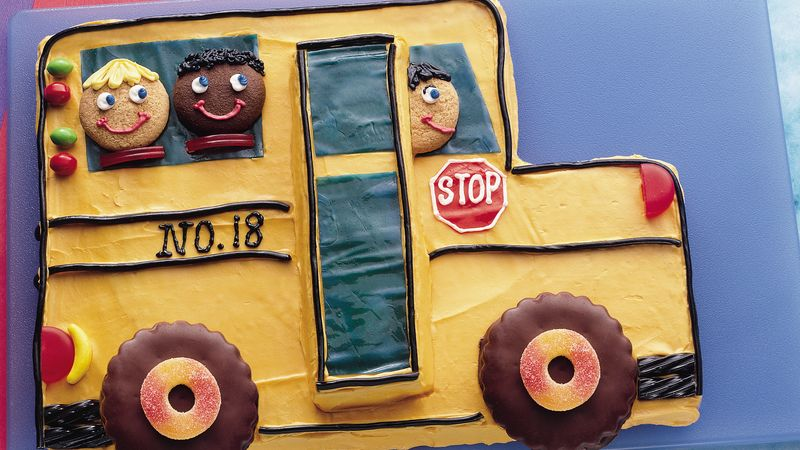 Giant School Bus Cookie