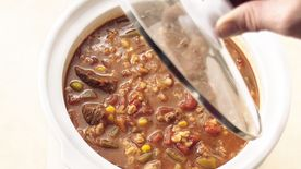 Slow-Cooker Vegetable-Beef-Barley Soup