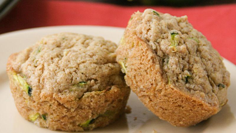 One Bowl Zucchini Muffins