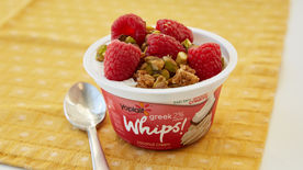 Whipped Berry Coconut Pistachio Cup