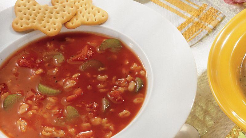 Tomato-Barley Soup
