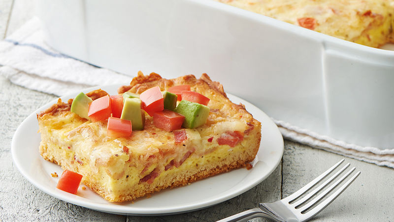 Cheesy California Breakfast Casserole