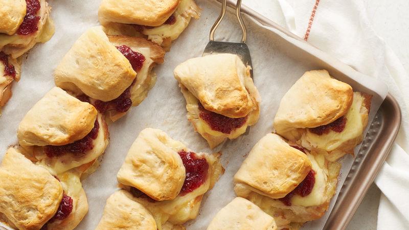 Turkey and Swiss Biscuit Sliders