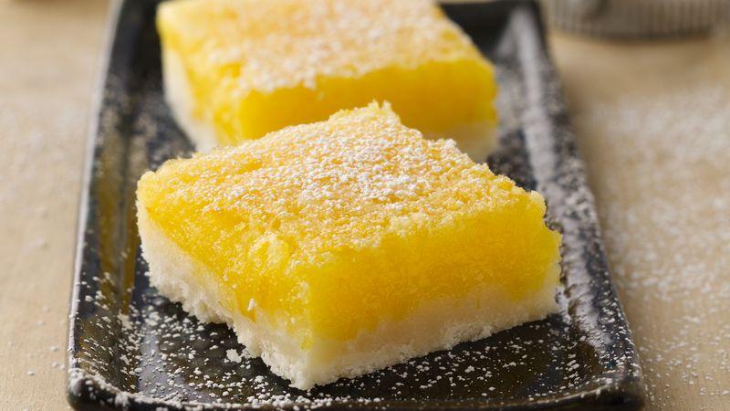 Gluten-Free Lemon Squares