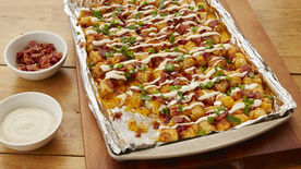 Loaded Baked Potato Totchos