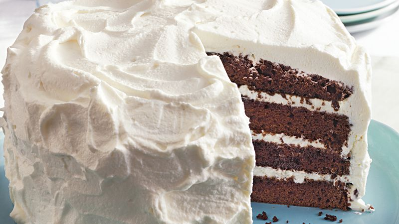 Black-and-White Chocolate Torte