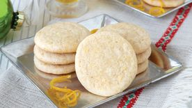 Honey Orange Ginger Cookies