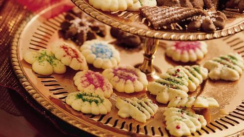 Spritz Cookie Recipes Bettycrocker Com