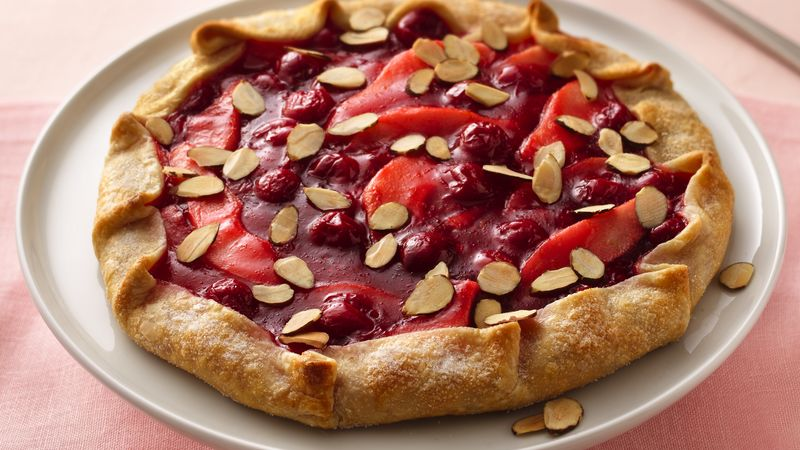 Cherry-Pear Tart