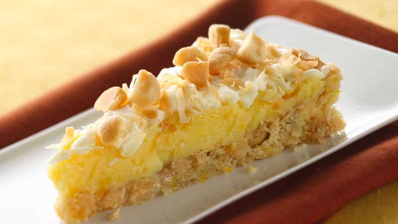 Orange Cream-Macadamia Torte