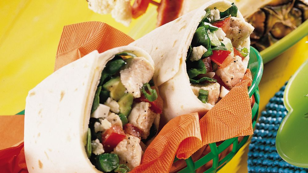 Cobb Salad Wraps