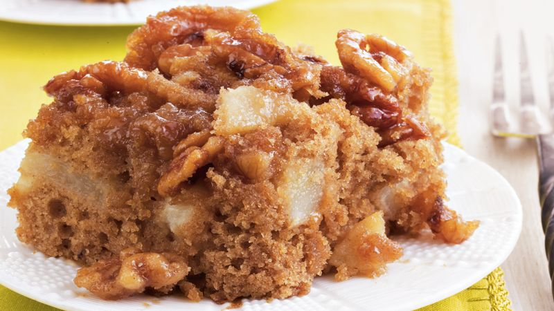 Gooey Pear Cake