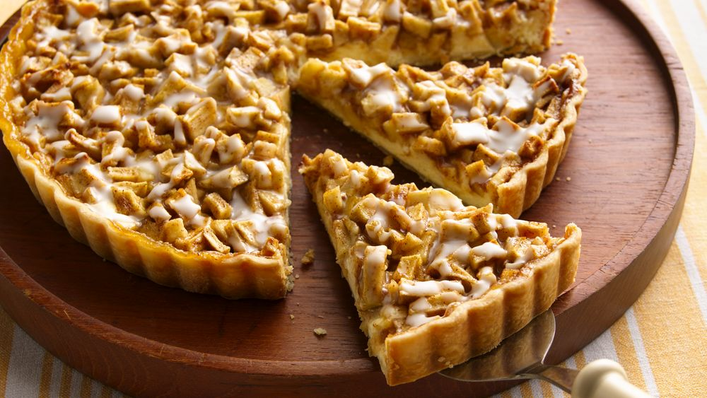 Cream Cheese-Apple Danish Tart