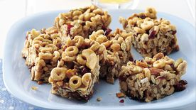 Crunchy Trail Mix Bars