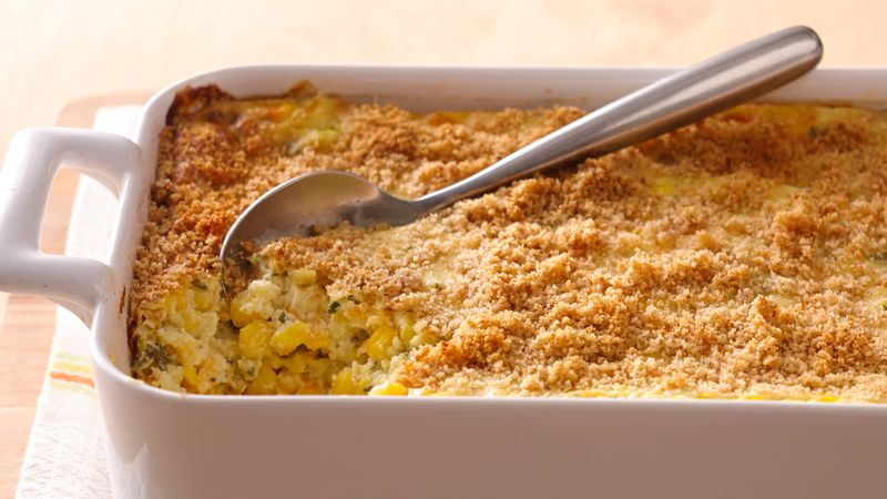 Classic Baked Corn Pudding Recipe Bettycrocker Com