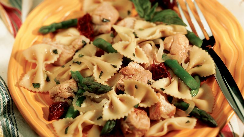 Chicken and Pasta Stir-Fry