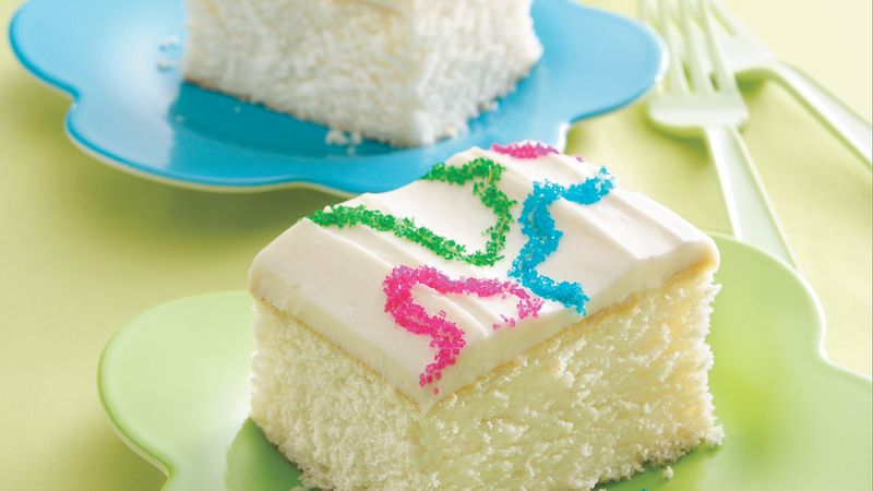 Springtime Sprinkles Cake