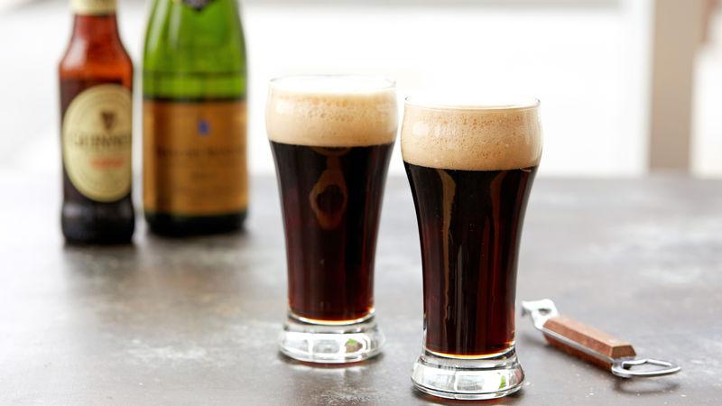 Black Velvet Beer Cocktail