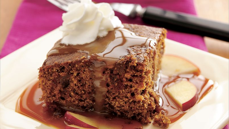 Caramel-Apple Gingerbread