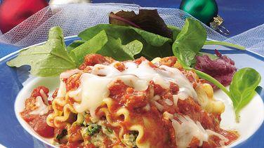 Lasagna Crescent Roll-Ups recipe from Pillsbury.com