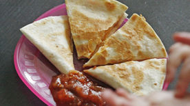 Ham, Egg and Cheese Quesadillas