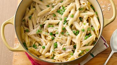 One-Pot Chicken Alfredo Penne